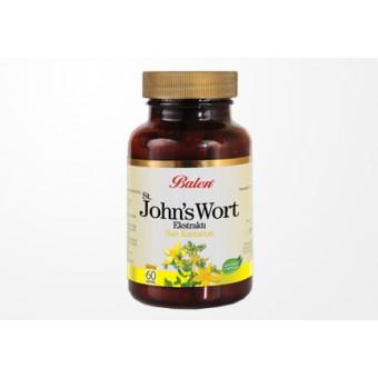 St. John's Wort (Sarı Kantaron) Ekstraktı 300mg 60 Kapsül